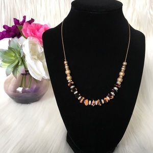 Adjustable Beaded Necklace